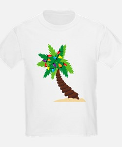 Christmas Palm Tree T-Shirt