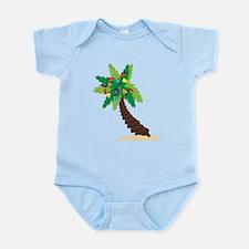 Christmas Palm Tree Infant Bodysuit