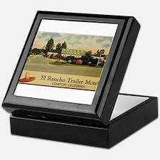 El Rancho Trailer Park Compton Keepsake Box