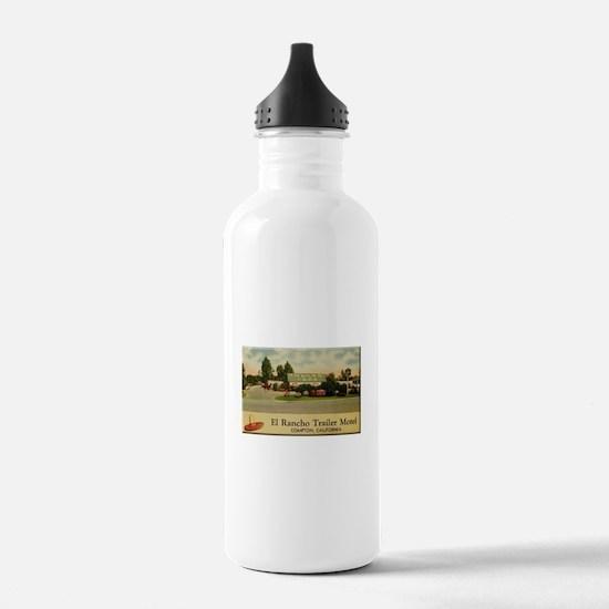 El Rancho Trailer Park Compton Sports Water Bottle