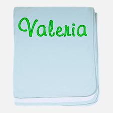 Valeria Glitter Gel baby blanket