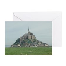 Mont St. Michel 2 Greeting Cards (Pk of 10)