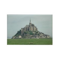 Mont St. Michel 2 Rectangle Magnet