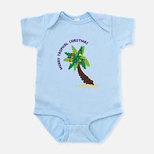 Merry Tropical Christmas Infant Bodysuit