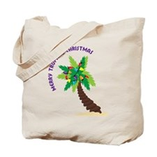 Merry Tropical Christmas Tote Bag