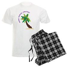 Merry Tropical Christmas Pajamas