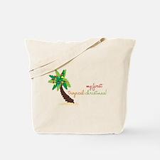 First Tropical Christmas Tote Bag