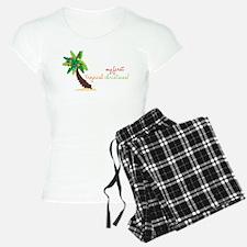 First Tropical Christmas Pajamas