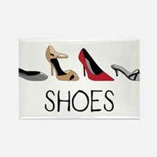 Shoes Rectangle Magnet
