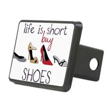 Life Is Short Hitch Cover