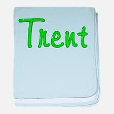 Trent Glitter Gel baby blanket