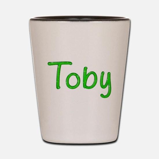 Toby Glitter Gel Shot Glass