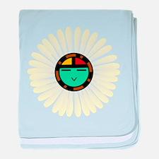 Native American Sun God baby blanket