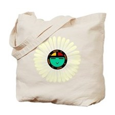 Native American Sun God Tote Bag