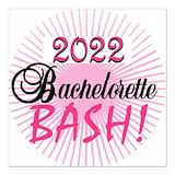 Bachelorette bash Car Magnets