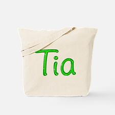 Tia Glitter Gel Tote Bag