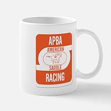 APBA Saddle Racing Card Mug