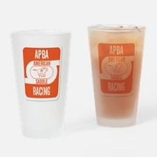 APBA Saddle Racing Card Drinking Glass