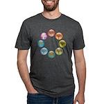 2-treewheel_4x4.png Mens Tri-blend T-Shirt