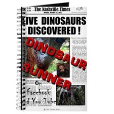 Live Dinosaurs Discovered ! Journal