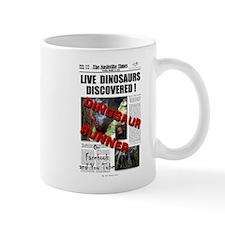 Live Dinosaurs Discovered ! Mug