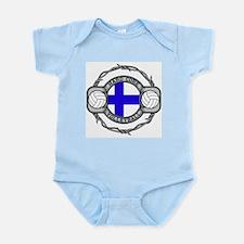 Finland Volleyball Infant Bodysuit