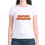 Worlds Best Skating Coach Jr. Ringer T-Shirt