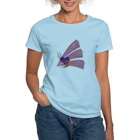 Feathered Heart Women's Light T-Shirt