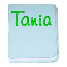 Tania Glitter Gel baby blanket