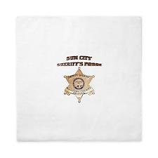 Sun City Sheriffs Posse Queen Duvet