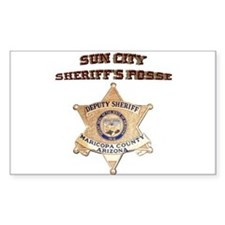 Sun City Sheriffs Posse Decal