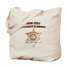 Sun City Sheriffs Posse Tote Bag