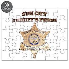 Sun City Sheriffs Posse Puzzle