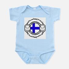 Finland Softball Infant Bodysuit
