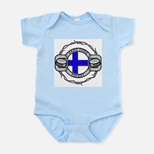 Finland Hockey Infant Bodysuit