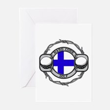 Finland Golf Greeting Cards (Pk of 10)