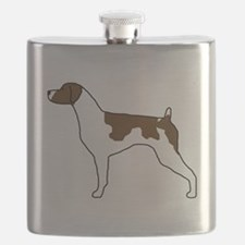 Liver Brittany Flask