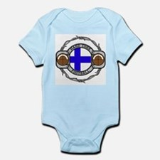Finland Football Infant Bodysuit