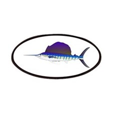 Sailfish fish Patches