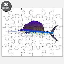 Sailfish fish Puzzle
