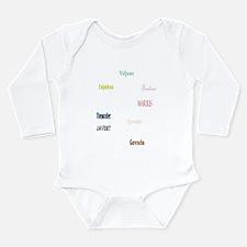 Les Miserables Long Sleeve Infant Bodysuit