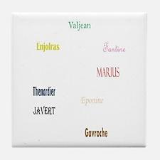 Les Miserables Tile Coaster