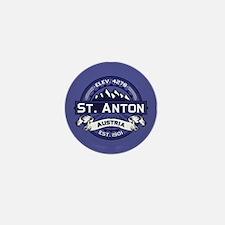 St. Anton Midnight Mini Button