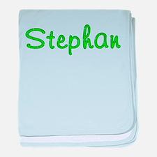 Stephan Glitter Gel baby blanket