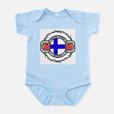 Finland Boxing Infant Bodysuit