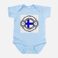 Finland Biking Infant Bodysuit