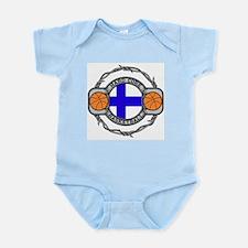Finland Basketball Infant Bodysuit