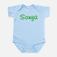 Sonya Glitter Gel Infant Bodysuit