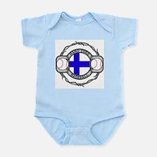 Finland Baseball Infant Bodysuit