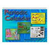 Periodic table Calendars